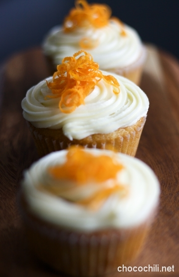 appelsiinicupcakes