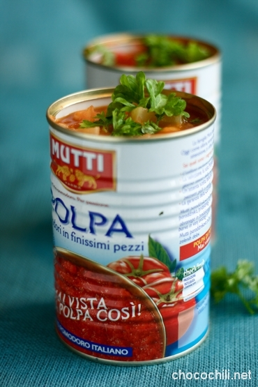 tomaattipapukeitto