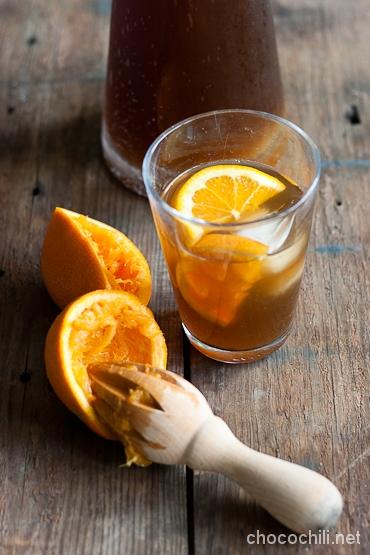 appelsiini-kookosjaatee