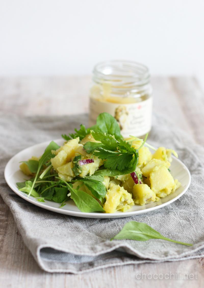 inkivaari-perunasalaatti